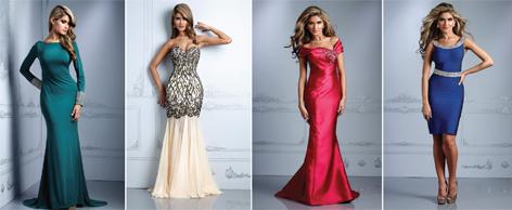 Новогодние коллекции платья
